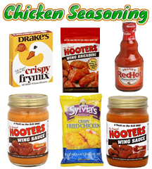SAUCES & SEASONINGS - CHICKEN & WINGS