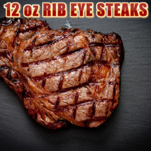 Ribeye Steaks 12oz