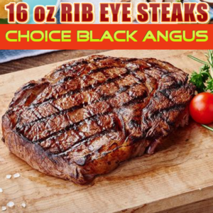 Rib Eye Steak Choice Angus 16 oz.