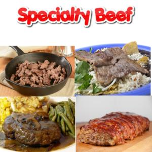 SPECIALTY BEEF