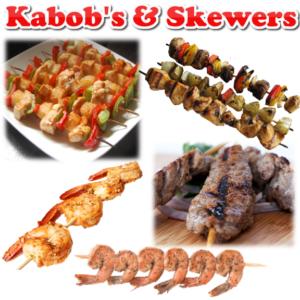 KABOBS & SKEWERS